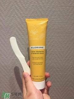 klorane脱毛膏怎么用?klorane脱毛膏使用方法