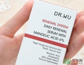 dr.wu杏仁酸18和6哪个好?dr.wu达尔夫杏仁酸18和6区别