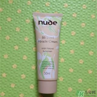 nude by nature bb霜怎么样_好用吗
