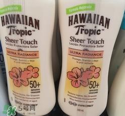 hawaiian tropic夏威夷防晒霜多少钱_专柜价格
