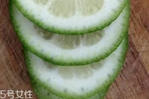檸檬減肥效果好嗎